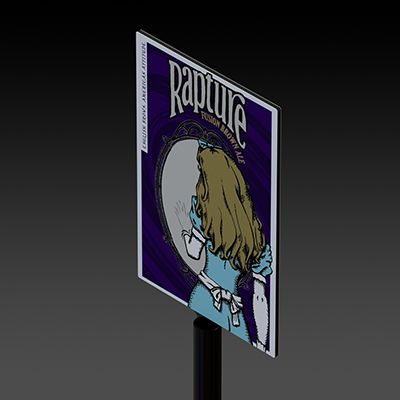 Rapture Pole Front